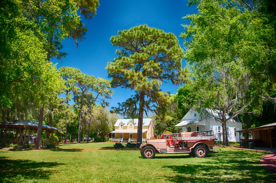 Pioneer Florida museum fire truck