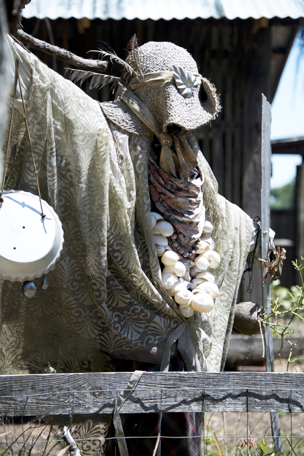 Pioneer Museum Scarecrow