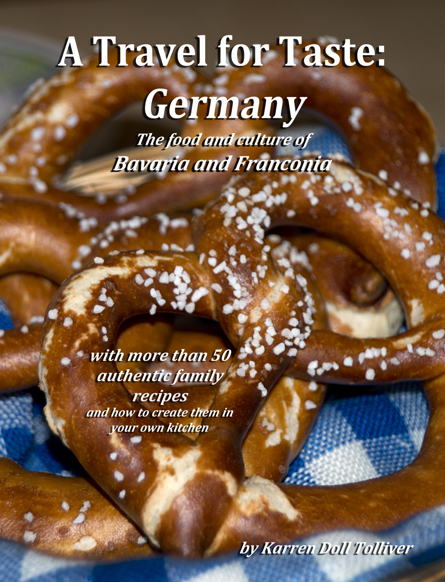 "My Newest Book, ""A Travel for Taste: Germany"", is Now Available for Sale!"