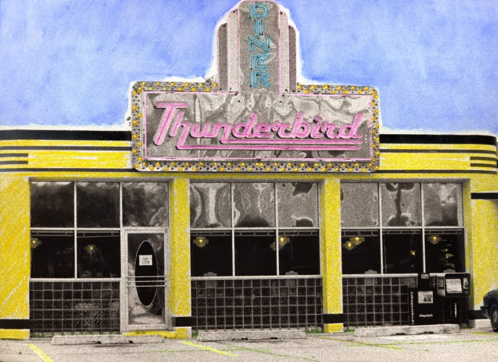 Hand-Colored Photographs of American Diners | A Travel for Taste
