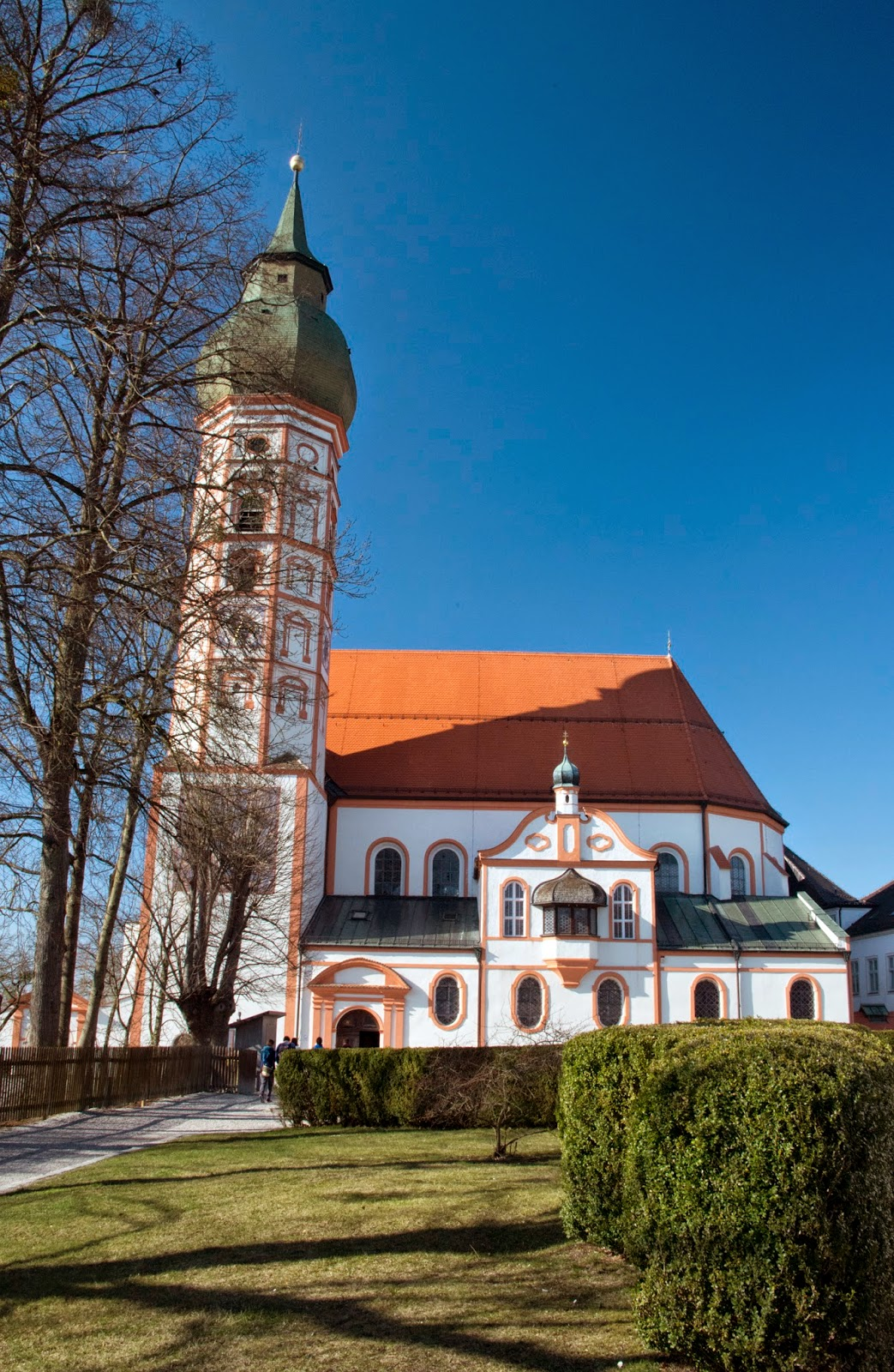Andechs Abbey, Dießen and Herrsching in Southern Bavaria, Germany