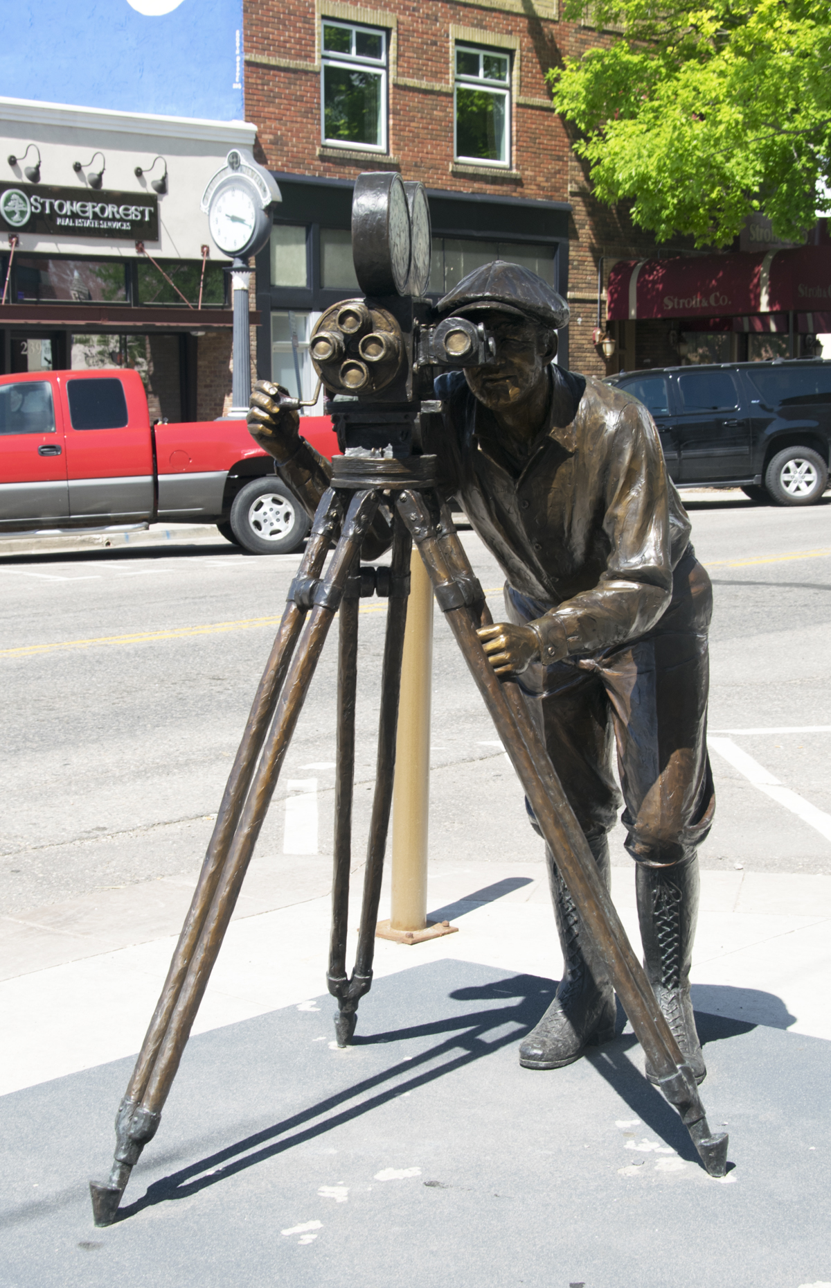 Loveland CO photographer sculpture