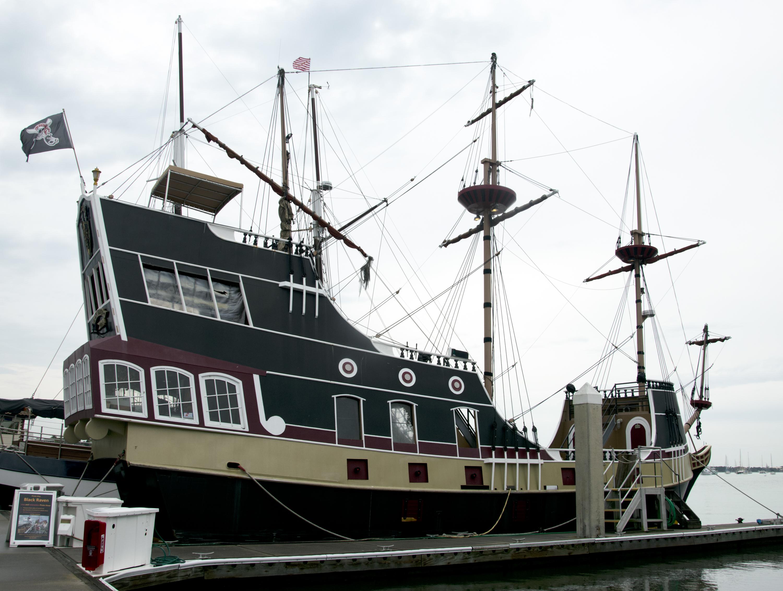 black raven pirate ship st augustine