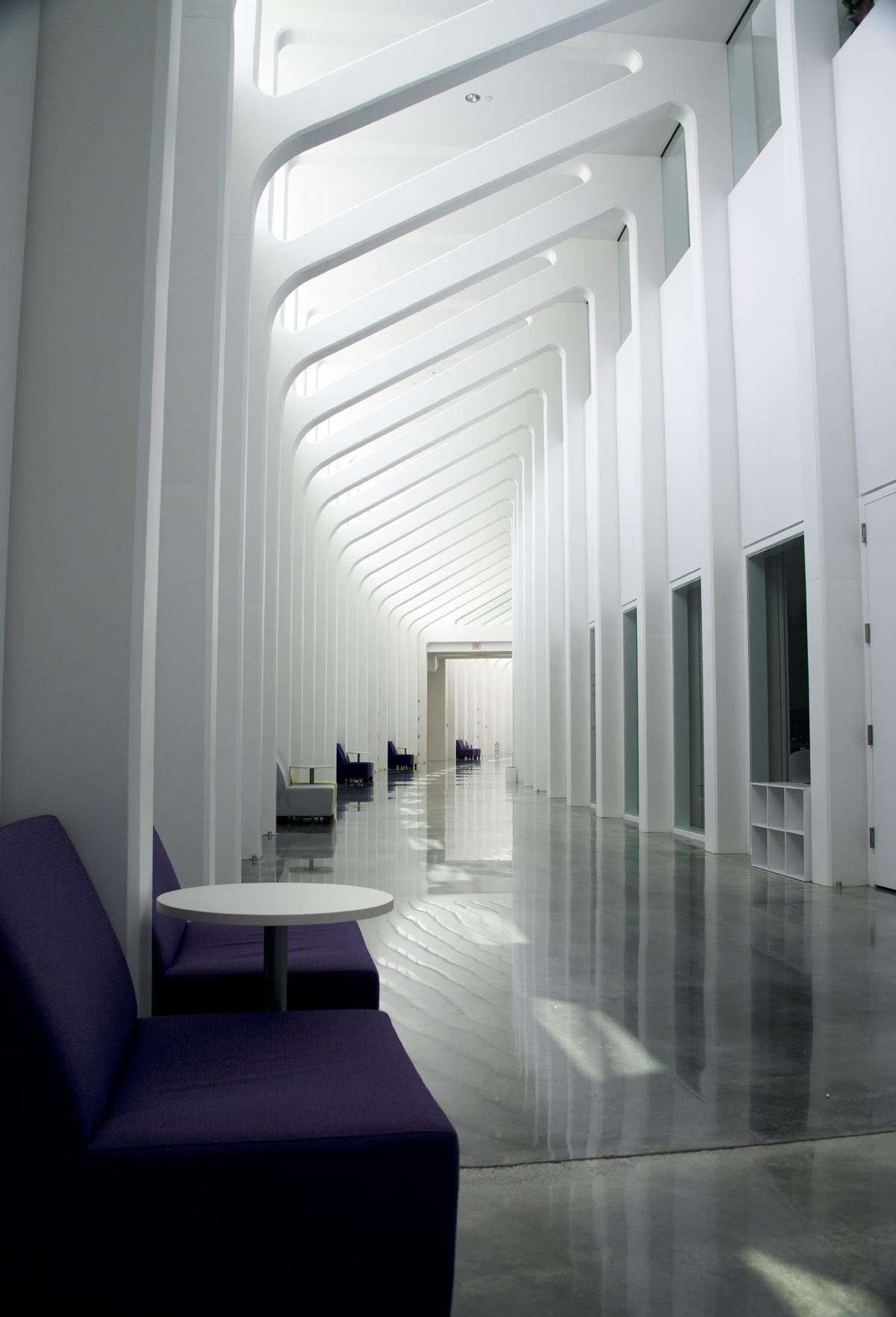 calatrava polytechnic hall
