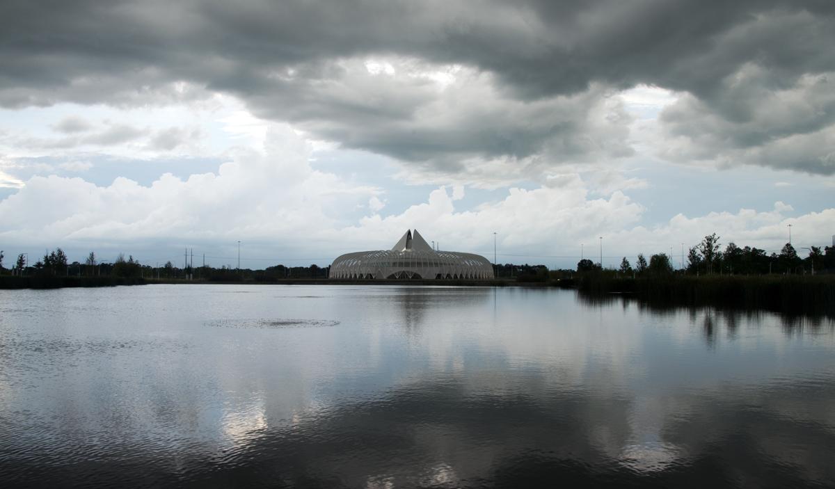 ist reflecting pond
