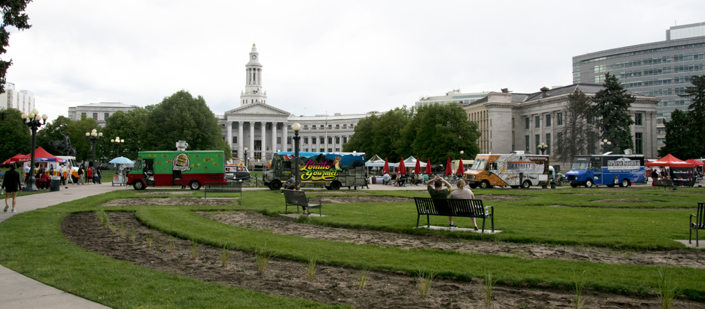 Civic Center EATS – a Benefit Gathering of Food Trucks in Denver