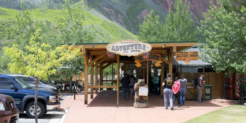 Colorado's Glenwood Caverns Adventure Park in the Rocky Mountains