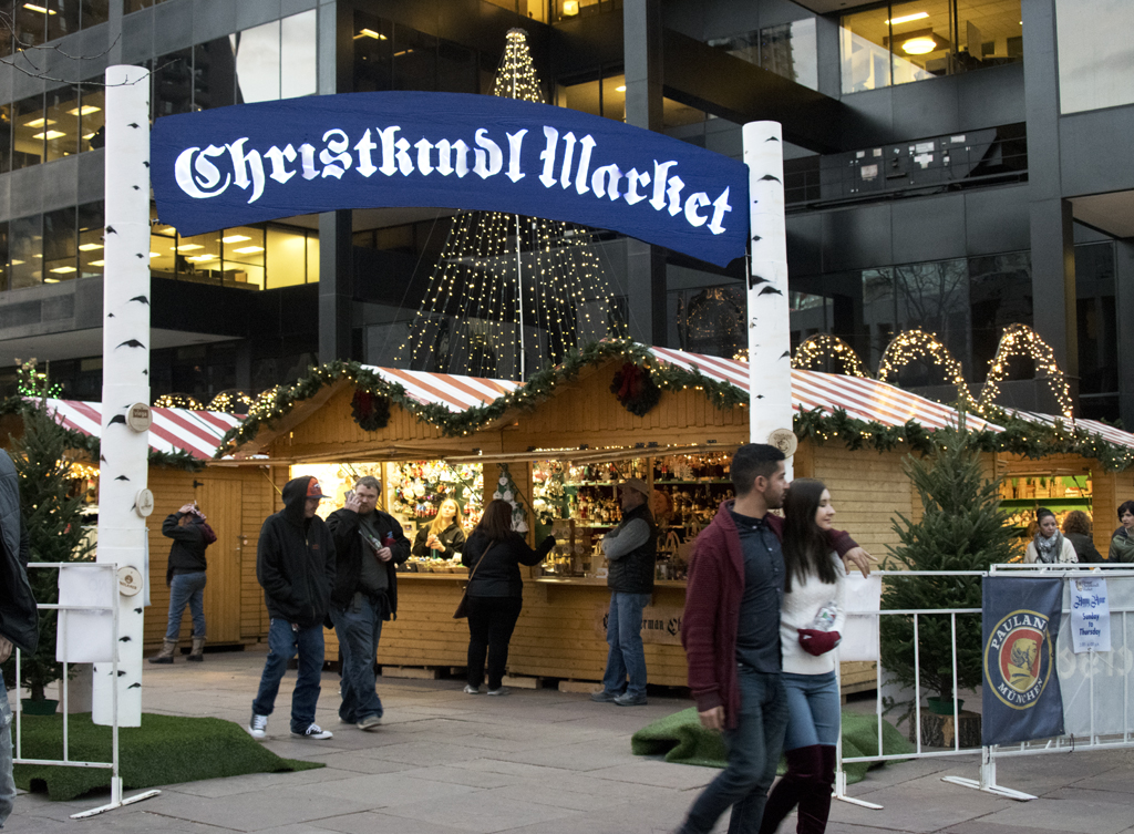Denver's German Christkindl (Christmas) Market 2017