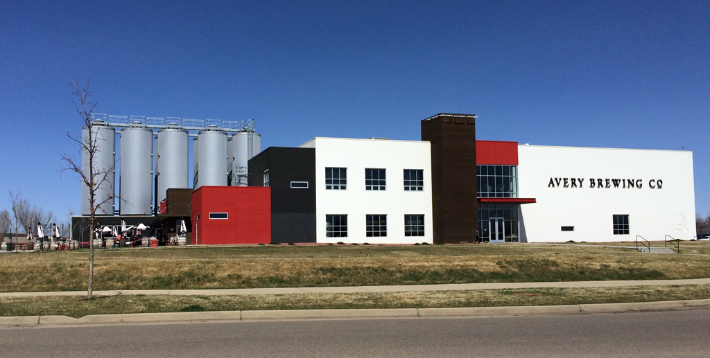 Avery Brewing Co. in Gunbarrel, Boulder County, Colorado