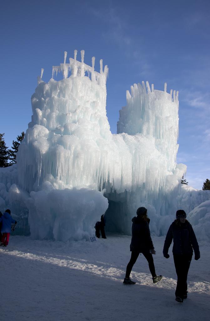 Ice Castles in Dillon, Colorado