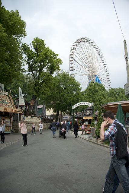 Bergkirchweihfest in Erlangen, Germany