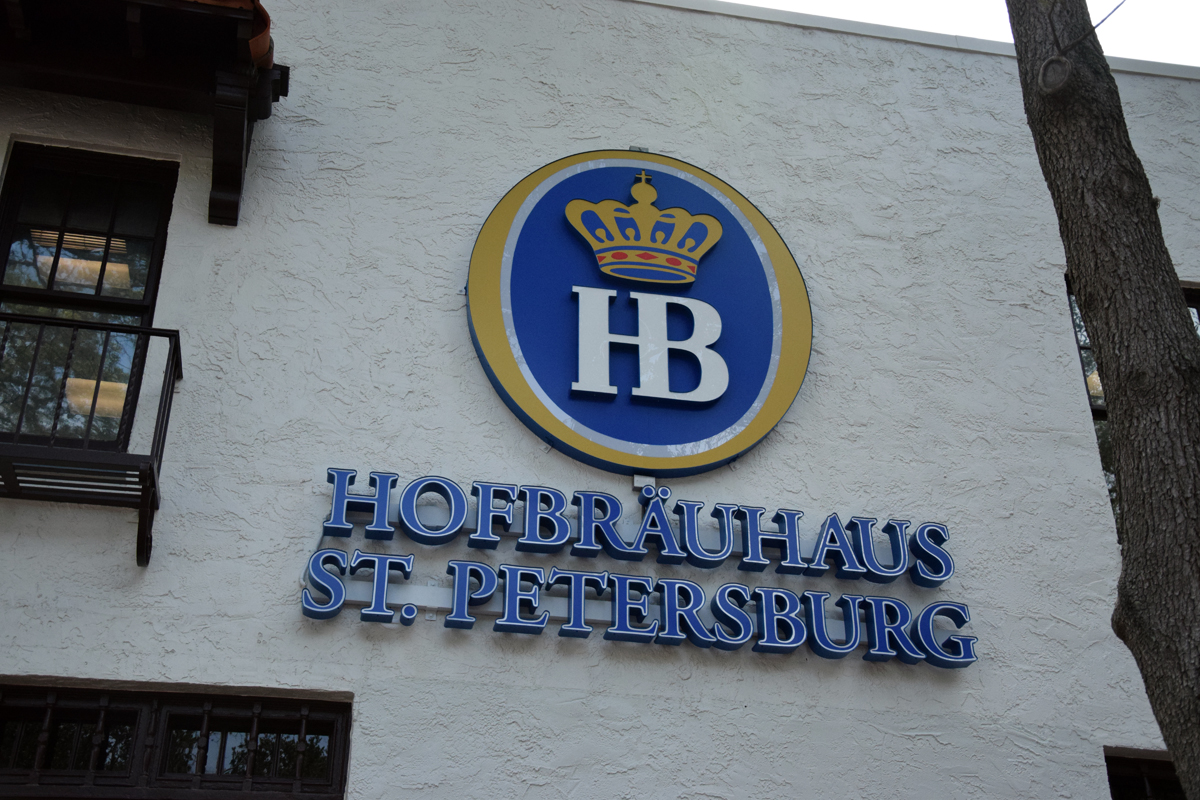 Hofbräuhaus in St. Petersburg, FL vs. Munich
