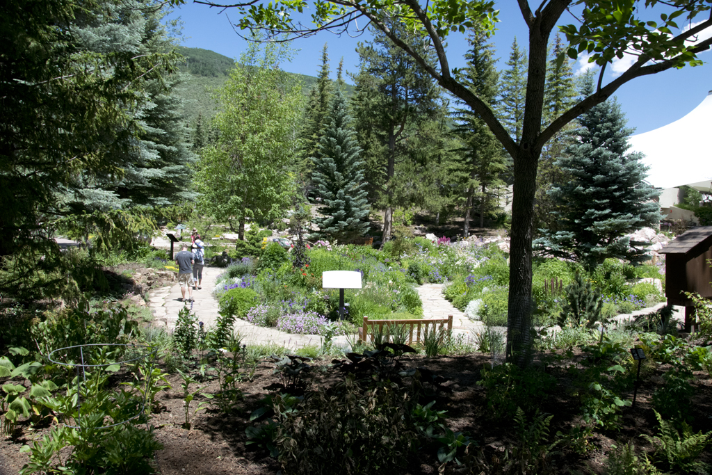 Betty Ford Garden In The Rockies At Vail Colorado A Travel For