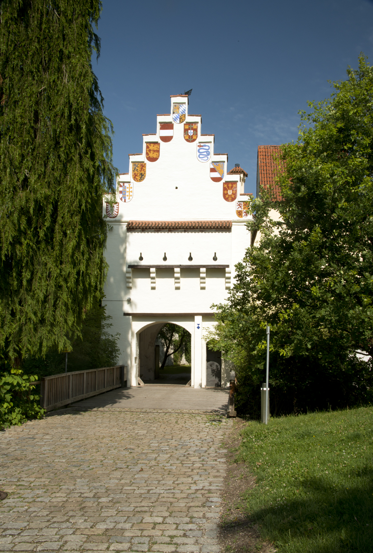 Medieval Castle Grünwald South of Munich